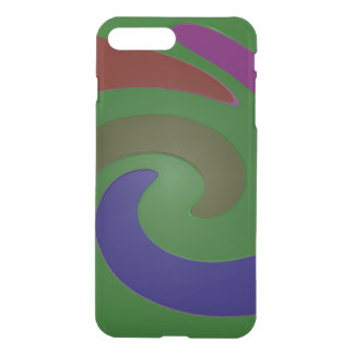 Colorful Mod Green Abstract iPhone 7 Plus Case