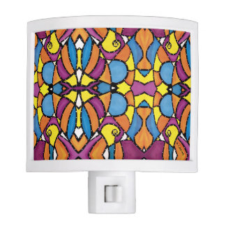 Colorful Modern Abstract Pattern Night Lites