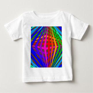 Colorful Modern Bold Spectrum Geometric Fun 1 Baby T-Shirt