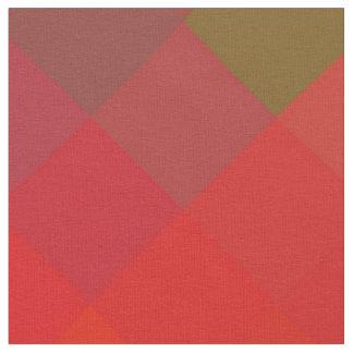 Colorful Modern Geometric Diamond Pattern Fabric