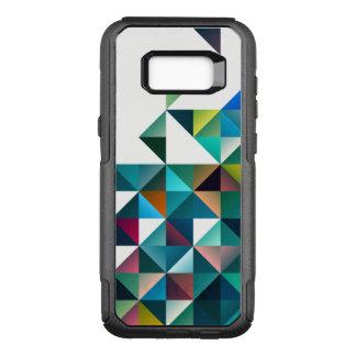 Colorful Modern Geometric Triangles Design OtterBox Commuter Samsung Galaxy S8+ Case