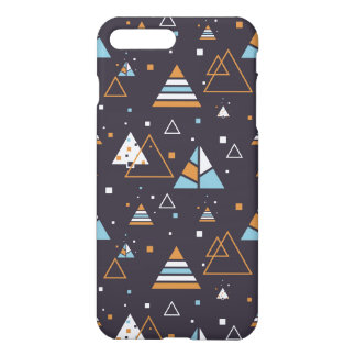 Colorful Modern Geometric Triangles Pattern iPhone 8 Plus/7 Plus Case