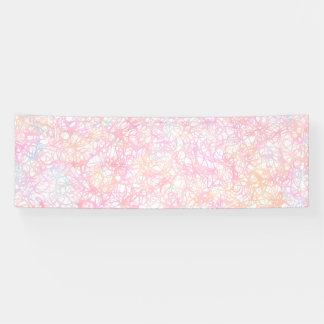 Colorful Modern Strings - Pearl Pastel Banner