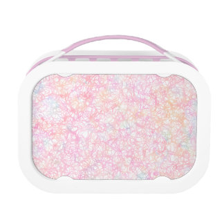 Colorful Modern Strings - Pearl Pastel Lunch Box