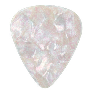 Colorful Modern Strings - Pearl Pastel Pearl Celluloid Guitar Pick