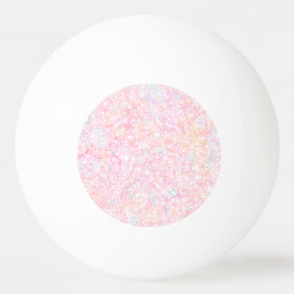 Colorful Modern Strings - Pearl Pastel Ping Pong Ball