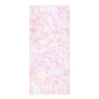 Colorful Modern Strings - Pearl Pastel Rack Card