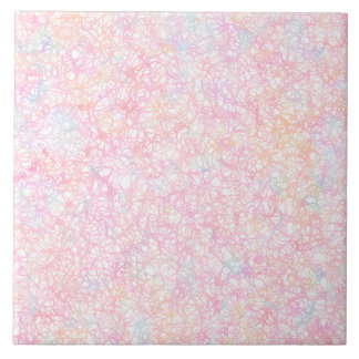 Colorful Modern Strings - Pearl Pastel Tile