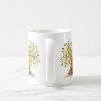 Colorful Modernist Tree 13 Coffee Mug