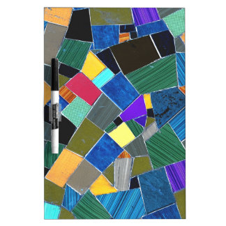 Colorful mosaic Dry-Erase whiteboards