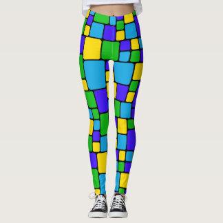 Colorful Mosaic Leggings