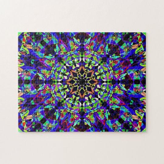Colorful Mosaic Mandala | Peaceful Jigsaw Puzzle