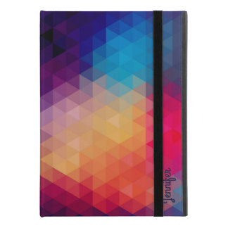 "Colorful Mosaic Modern Geometric Pattern iPad Pro 9.7"" Case"