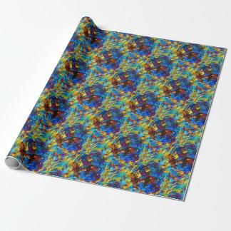 Colorful mosaic peace symbol