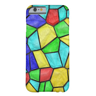 Colorful Mosaic Stained Glass Barely There iPhone 6 Case