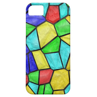 Colorful Mosaic Stained Glass iPhone 5 Cases