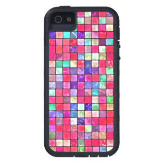 Colorful Mosaic Tile Pattern iPhone 5 Covers