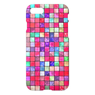 Colorful Mosaic Tile Pattern iPhone 7 Case