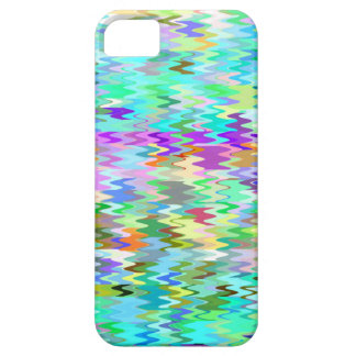 Colorful Mosaic Wave Pattern #2 iPhone 5 Cover