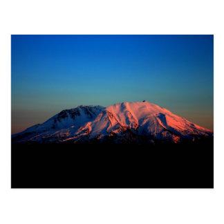 Colorful Mount Saint Helens at Dusk Postcard