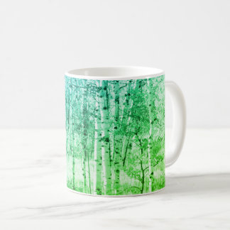 Colorful Mountain Forest Coffee Mug