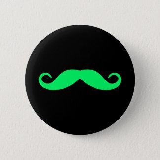 Colorful Moustache Button