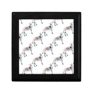 Colorful Mr Zebra Gift Box