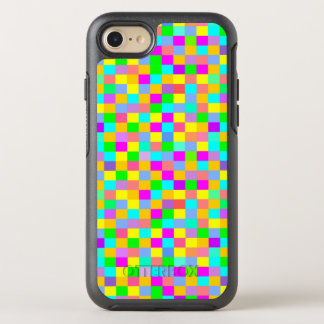 Colorful multicolor squares OtterBox symmetry iPhone 8/7 case