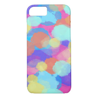 Colorful multicolor watercolor iPhone 8/7 case