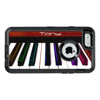 Colorful Music Piano Keys Otterbox iPhone Case