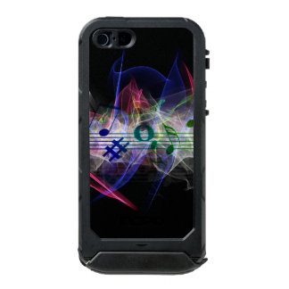 Colorful Music Style Incipio ATLAS ID™ iPhone 5 Case