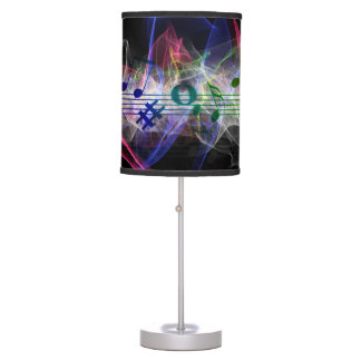 Colorful Music Style Table Lamps