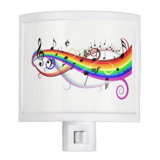 Colorful Musical Design Kids Night Light