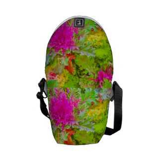 Colorful Nature Print Photo Commuter Bag