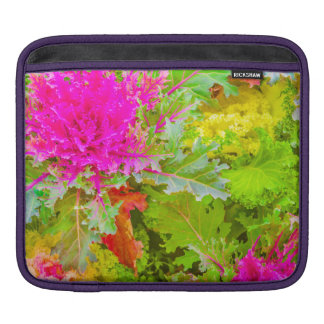 Colorful Nature Print Photo iPad Sleeve