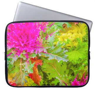 Colorful Nature Print Photo Laptop Sleeve