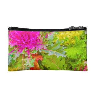 Colorful Nature Print Photo Makeup Bag