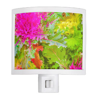 Colorful Nature Print Photo Nite Lite