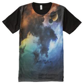 Colorful Nebula All-Over Print T-shirt