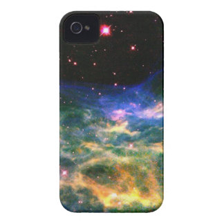 Colorful Nebula and Stars iPhone 4 case