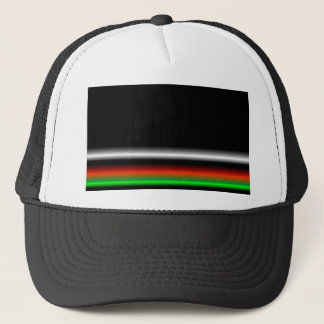 Colorful Neon Background Images Trucker Hat