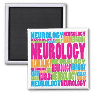 Colorful Neurology Magnet