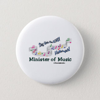 Colorful Notes 2 Inch Round Button