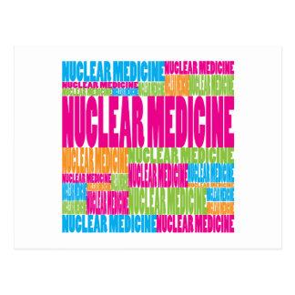 Colorful Nuclear Medicine Postcard