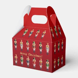 Colorful Nutcrackers' Army Favor Box