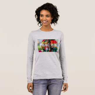 Colorful nutcrackers long sleeve T-Shirt