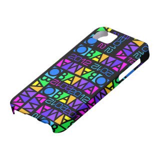 Colorful Obama 2012 iPhone 5 Case-Mate