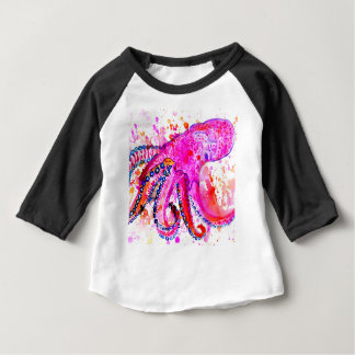 Colorful Octopus Art02 Baby T-Shirt