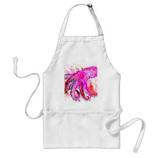 Colorful Octopus Art02 Standard Apron