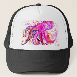 Colorful Octopus Art02 Trucker Hat